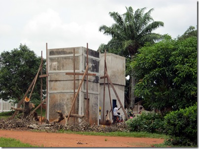 Bokonzo water tower
